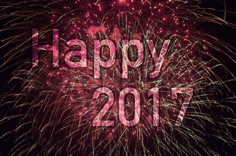 Happy New Year 2017 New 9 happy new year 2017 with colorful sparklers the words