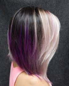 idears for brown hair with blond highlights 40 versatile ideas of purple highlights for blonde brown