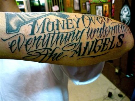 lavish tattoo money everything underneath the by ames yelp