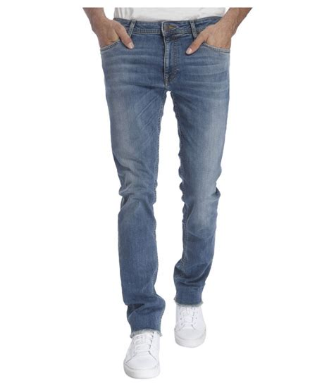 Jones Light Blue Slim Faded Buy