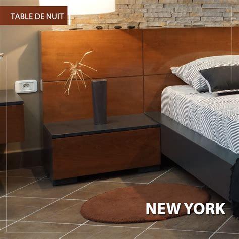 table de nuit new york new york meuble keskes