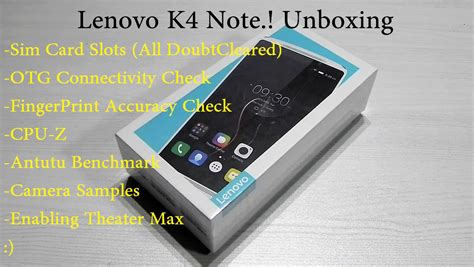 how to download themes for lenovo k4 note lenovo k4 note unboxing sim card slots otg check