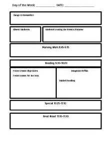 plan templates word lesson plan template word lisamaurodesign