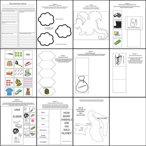 printable lap time sheets my father s dragon free lapbook templates unit studies