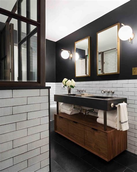 Black White And Brown Bathroom by 5 Fresh Bathroom Colors To Try In 2017 Hgtv S Decorating
