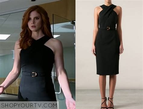 From Suits Wardrobe by Shop Your Tv Suits Season 4 Episode 6 Donna S Black