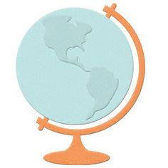 Papercraft Globe - sts gt outgoing mail rubber st