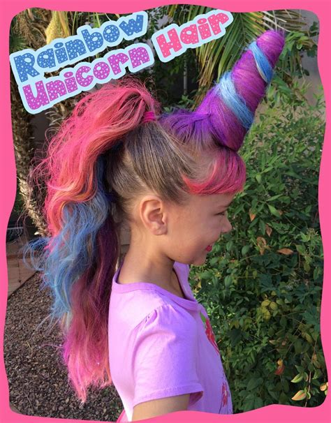 313 best images about crazy hair day at school on crazy hair day favorite rainbow unicorn hair we used a