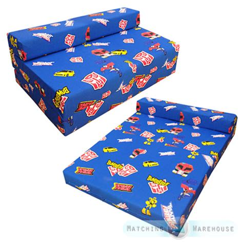 kids folding bed children s kids foldout double mattress sofa bed futon