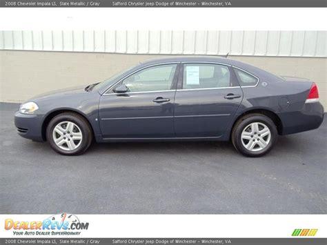 Slate Ls by 2008 Chevrolet Impala Ls Slate Metallic Gray Photo 1