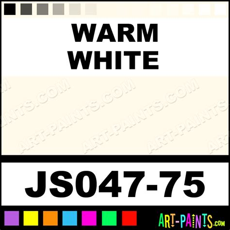 best warm white paint color warm white artists colors acrylic paints js047 75 warm white paint warm white color jo