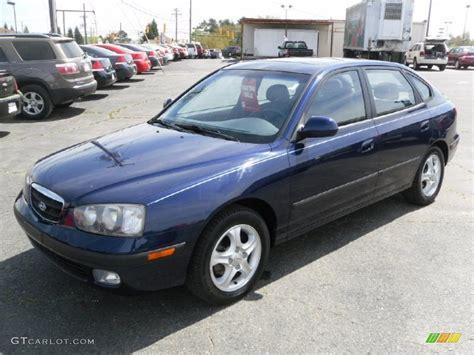 hyundai elantra gt 2003 2003 carbon blue hyundai elantra gt hatchback 28196798