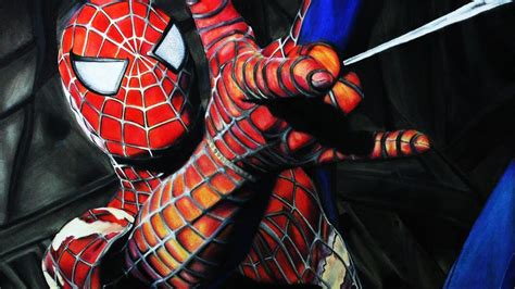 imagenes epicas de spiderman c 243 mo dibujar a spider man realista how to draw realistic
