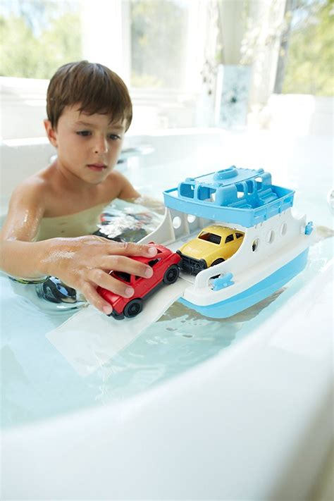 ferry boat with mini cars green toys ferry boat with mini cars bathtub toy best offer