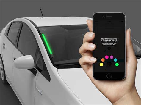 lyft light up beacon uber launching coloured beacon lights and will start