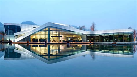 club house design spark architects chongqing clubhouse rises in china chongqing clubhouse spark
