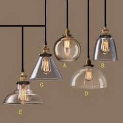 Pendant Lighting Fixtures Kitchen Nordic Vintage Glasspendant L American Country Kitchen Lights Fixtures Modern Edison