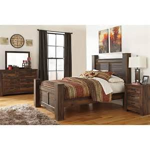 7 Piece Bedroom Set Queen signature design by ashley quot quinden quot 7 piece queen bedroom set