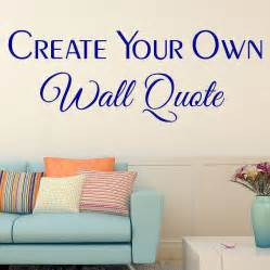 custom wall decals quotes text stickers onmyhome