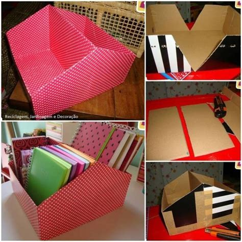 diy storage boxes modern magazin
