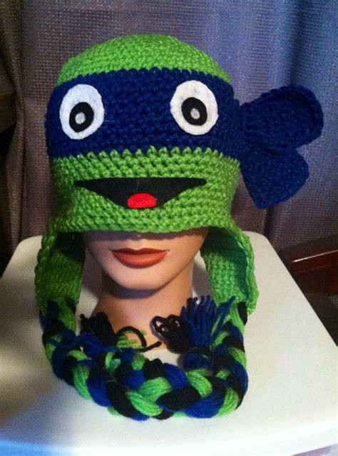 pattern for ninja turtle hat 25 best ideas about crochet ninja turtle on pinterest