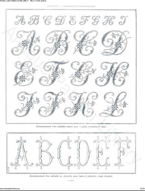 embroidery templates letters more monograms for embroidery pintangle