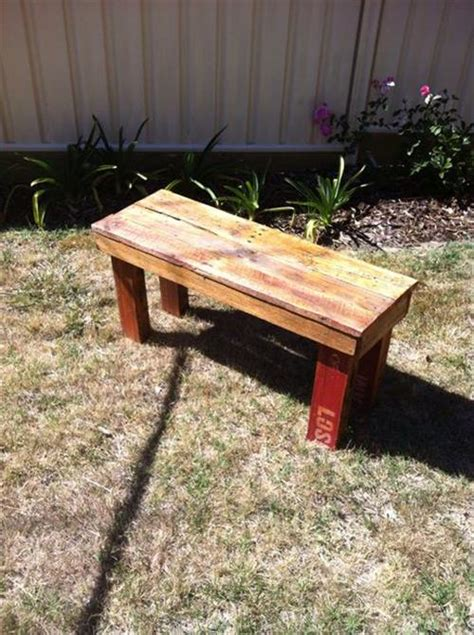 diy pallet outdoor rustic bench pallet furniture diy amazing pallet outdoor bench ideas pallets designs