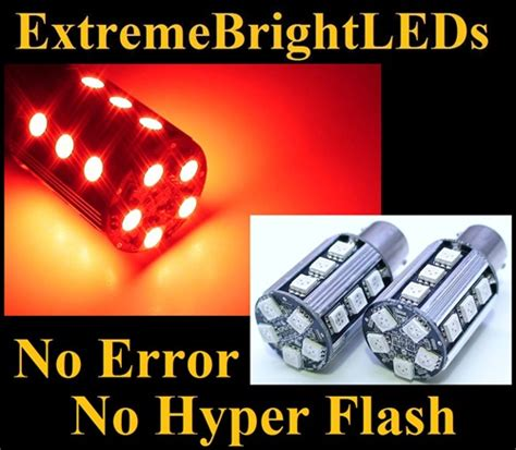 led no resistor needed two brilliant no resistor required no error no hyper flash canbus error free 1156 7506 7527