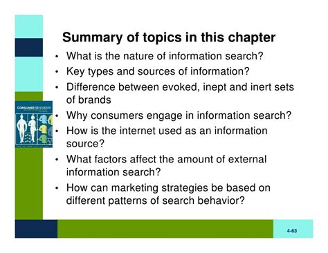 patterns in nature topic test bb chapter four information search
