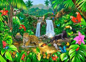Animal murals amp animal scene wallpaper