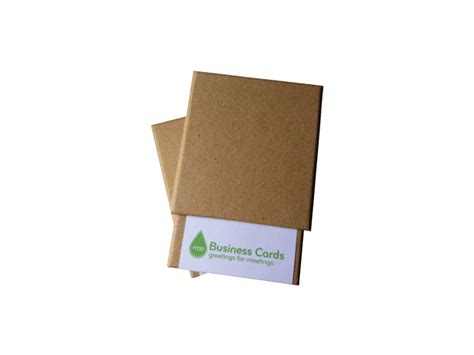 Business Card Boxes Cardboard
