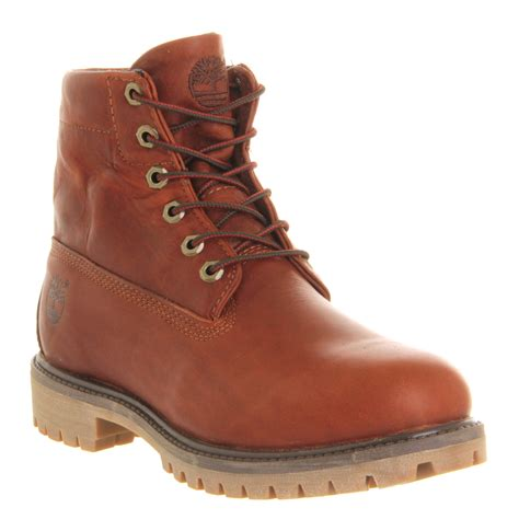 top boots for lyst timberland roll top boot in brown for