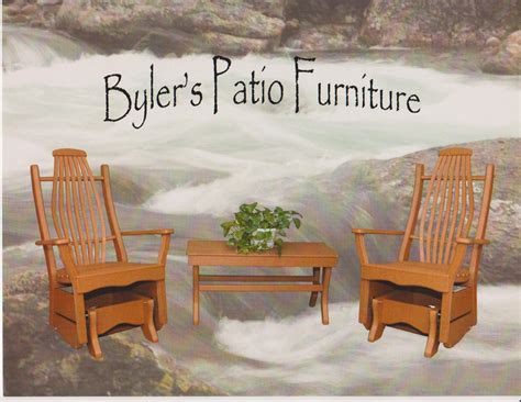 Amish Outdoor Patio Furniture Byler Outdoor Furniture Amish Solid Wood