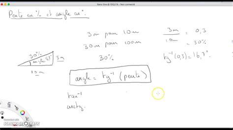 calcul pente de toit 5452 calcul d une pente de toit en pourcentage