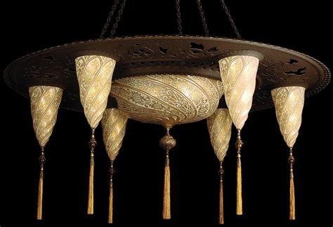 Fortuny Creates Chandelier Combines Two Of Previous Fortuny Chandelier