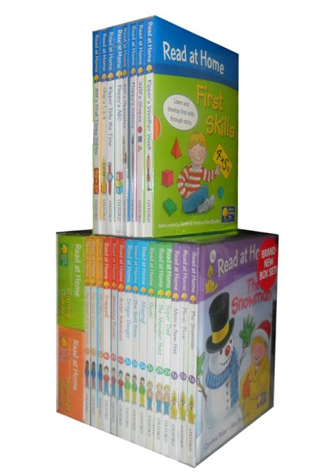 oxford tree read at home collection 23 books box set brand