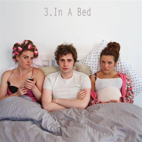3 in a bed coming soon to dvd reviews by amos lassen