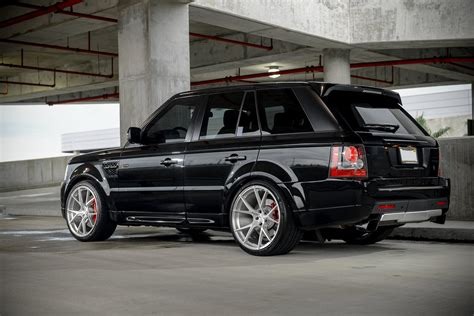 range rover sport rims 22 2011 range rover sport supercharged on 22 quot velos s3 forged