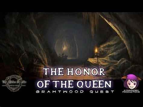 the honor of the queen elder scrolls online l19 the honor of the queen youtube