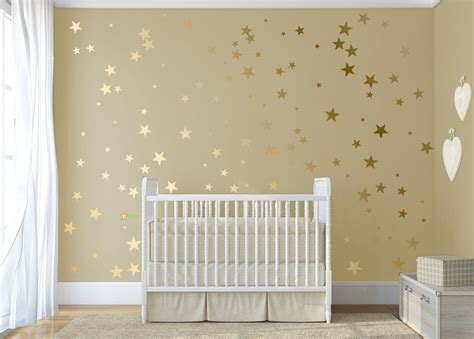 how to stick something to a wall gold confetti stick on wall gold vinyl wall decal