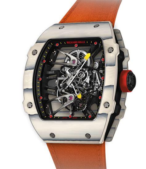 Richard Mille Sport richard mille rm27 02 rafael nadal has novel quartz tpt for 775 000 ablogtowatch