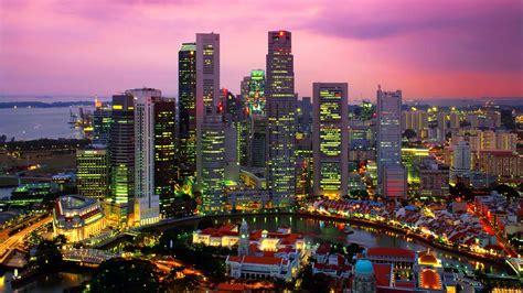 imagenes de urbanos paisaje urbano de singapur fondos de pantalla paisaje