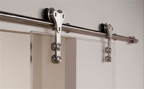 Sliding Glass Barn Door Hardware Modern Barn Style Glass Sliding Door Hardware With Free Shipping