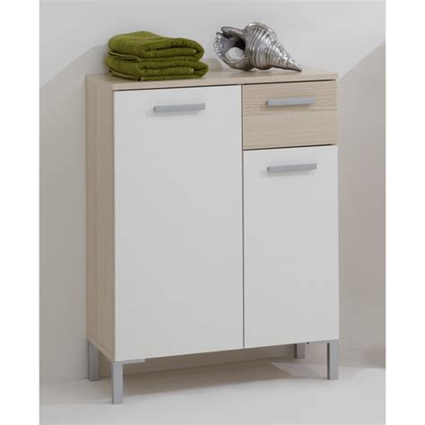 bathroom white cabinets floor lerida2 floorstanding bathroom cabinet in ashtree white