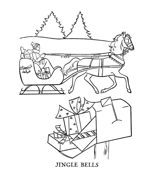 horse sleigh coloring page christmas horse coloring pages coloring home