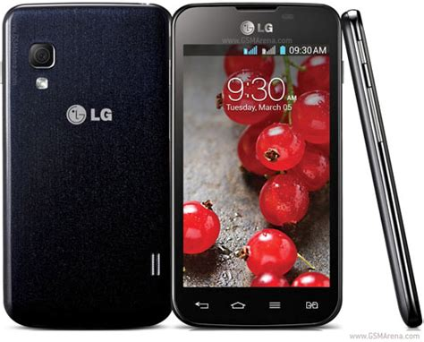 lg optimus l5 ii dual e455 pictures official photos