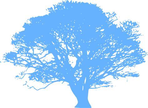 blue tree  clip art  clkercom vector clip art