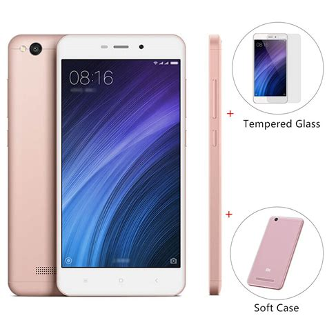 Xiaomi Redmi 4a Soft Shinning Chrome Xiaomi Redmi 4a Softcas package xiaomi redmi 4a 2gb 16gb smartphone gold