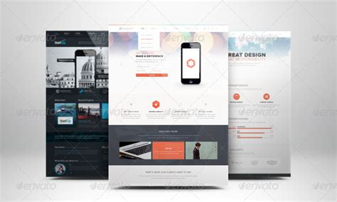 web design mockup presentation web page presentation mockup with studio backdrops by