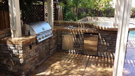 Patio Covers El Dorado El Dorado Vanier Outdoor Kitchen With Patio Cover